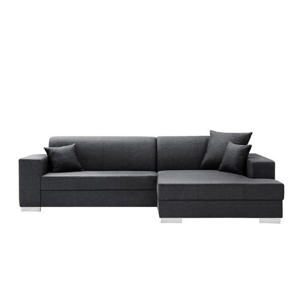 Perle antracit kanapé, jobb oldalas - Interieur De Famille Paris