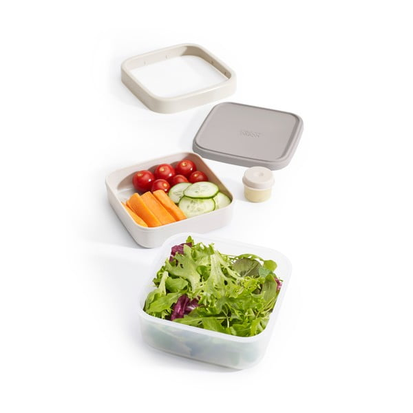 Caserolă salată Joseph Joseph GoEat, gri