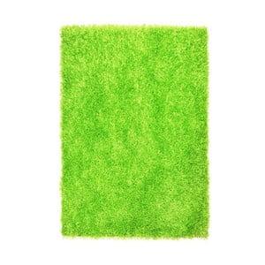 Koberec Spaghetti Green, 70x140 cm