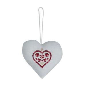 Závěsné srdce Grey Heart