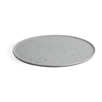 Farfurie din ceramică Kähler Design Ombria, ⌀ 27 cm, gri de la Kähler Design