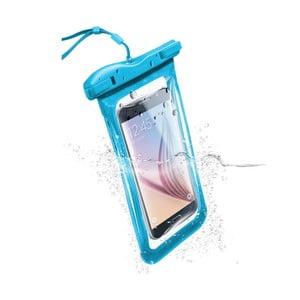 Voděodolné univerzální pouzdro Cellularline VOYAGER, modré
