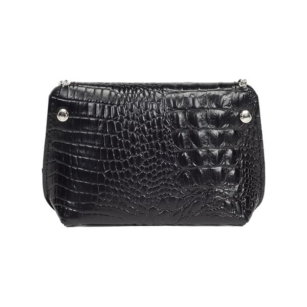 Kabelka Milly Crocodile Black