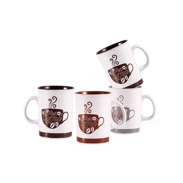 Set hrnků Coffee se stojanem, 5 ks