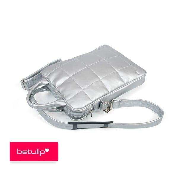 Tulipka notebookovka, stříbrná