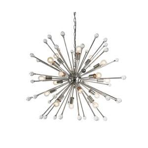 Lustră Artelore Evora, Ø 100 cm, argintiu