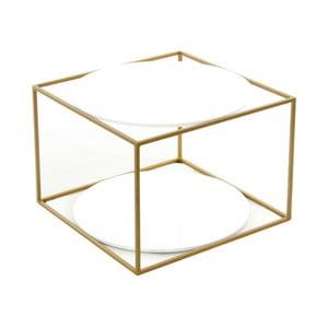 Odkládací stolek 360 Living Curtis Weich Gold