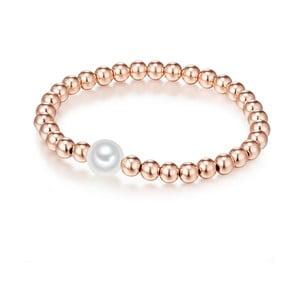 Perlový náramek Nova Pearls Copenhagen Adalene, délka 17-20cm