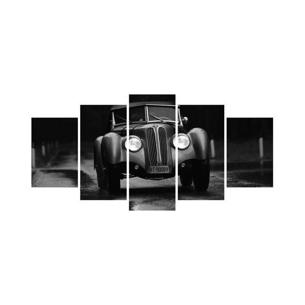 Vícedílný obraz Black&White no. 46, 100x50 cm