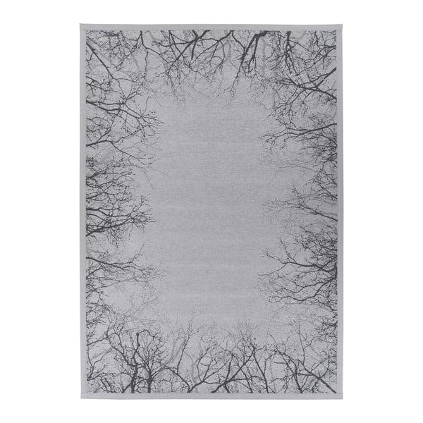Pulse Silver szürke kétoldalas szőnyeg, 80 x 250 cm - Narma