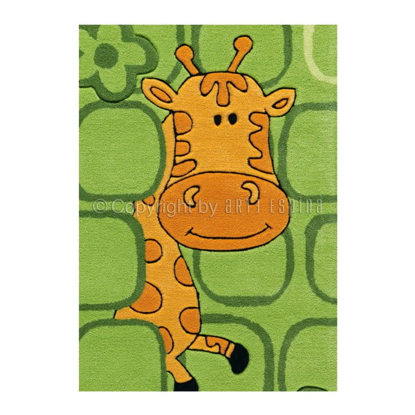 Ručně tkaný koberec Sam Zoo, 110x160 cm