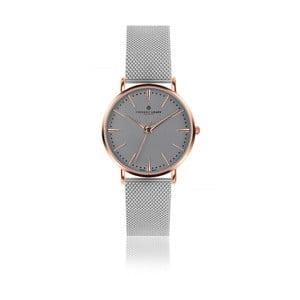 Unisex hodinky s páskem z nerezové oceli ve stříbrné barvě Frederic Graff Eiger