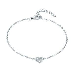 Dámský stříbrný náramek CARAT 1934 Lonely Heart