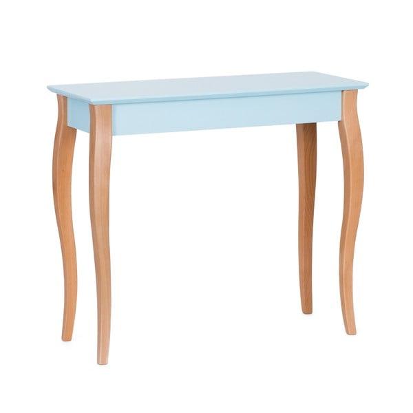 Console világos türkizkék kisasztal, hossza 85 cm - Ragaba