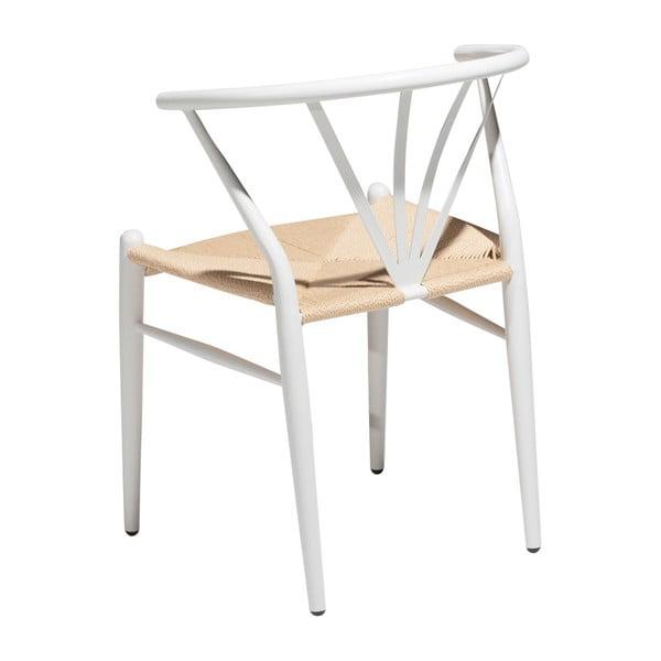Bílá jídelní židle DAN–FORM Denmark Delta