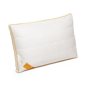 Bílý polštář s vlnou merino Lana Green Future, 45x65cm