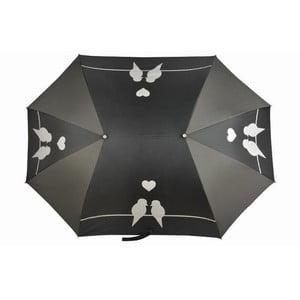Umbrelă pentru două persoane Ambiance Pour Aux, negru