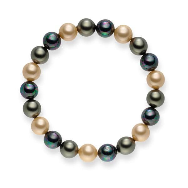 Perlový náramek Nova Pearls Copenhagen Medón, 19 cm