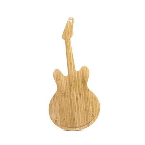 Guitar vágódeszka bambuszból - Kikkerland