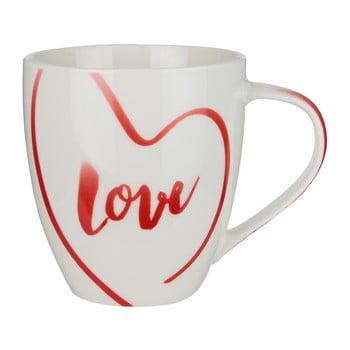 Cană din porțelan în cutie de cadou Le Studio Love Mug, 150 ml de la Le Studio