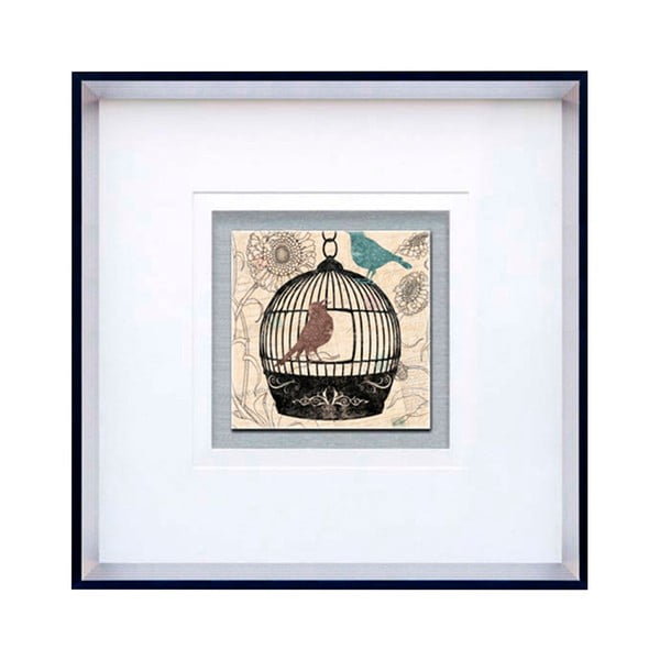 Zarámovaný obraz Birdcage