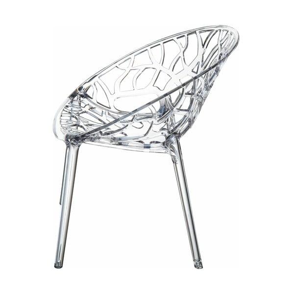 Židle Crystal Clear