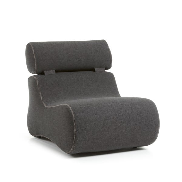 Club grafitszürke fotel - La Forma