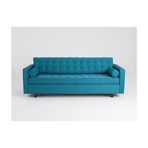 Canapea extensibilă 3 locuri Custom Form Topic, turcoaz
