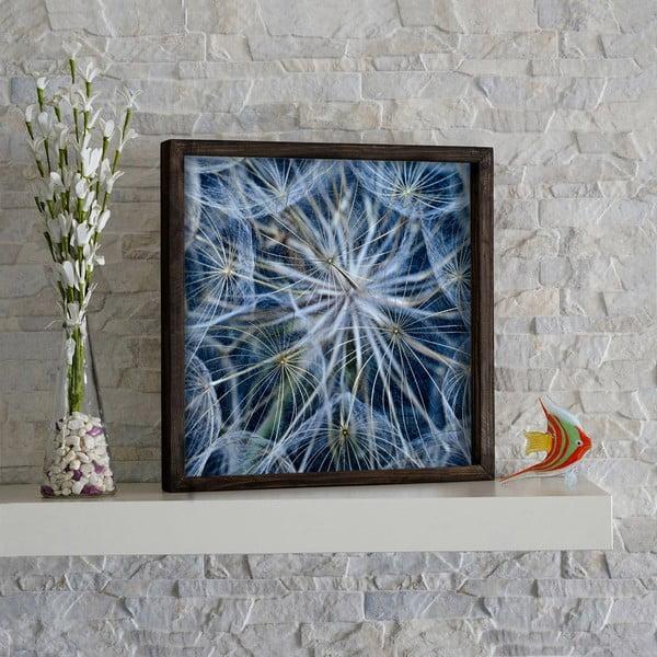 Bathroom Dandelion fali kép, 34 x 34 cm