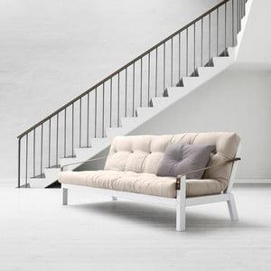 Canapea extensibilă Karup Poetry White/Vision/Gris