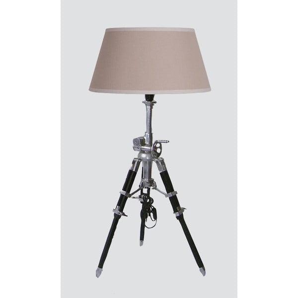 Stojací lampa Hamilton, béžová