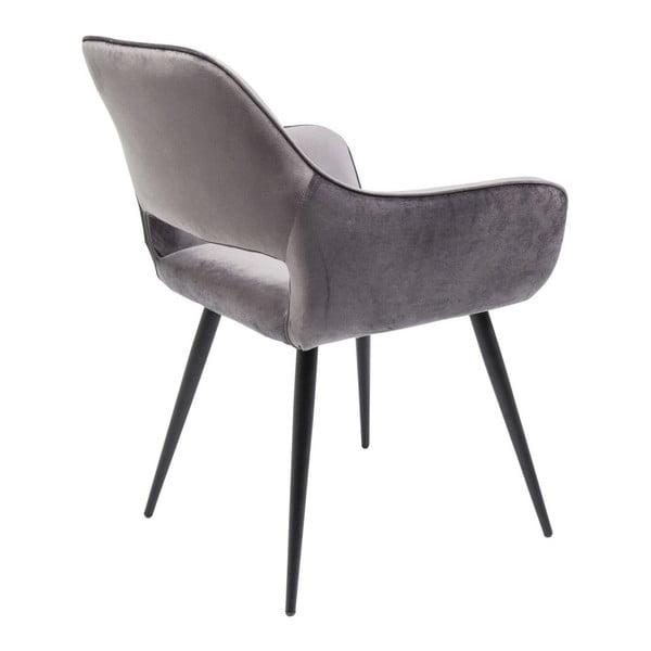 Sada 2 šedých židlí Kare Design Francisco