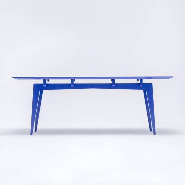 Jídelní stůl Yamaza, modrý