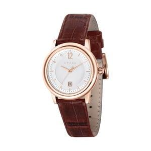 Dámské hodinky Cross New Chicago Silver/Brown, 31 mm