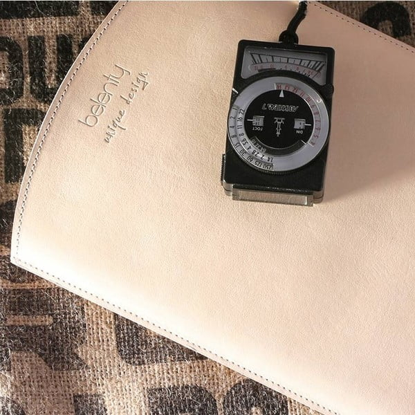 Kožený obal na iPad 2, 3, 4 Cream