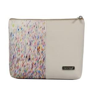 Béžová kosmetická taštička Dara bags Baggie Big No.365