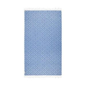 Prosop baie hammam Kate Louise Bonita, 165 x 100 cm, albastru