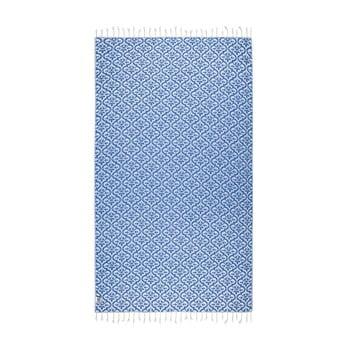 Prosop hammam Kate Louise Bonita, 165 x 100 cm, albastru imagine