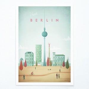 Poster Travelposter Berlin, A3
