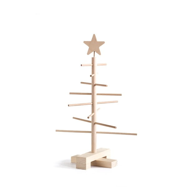 Drewniana choinka Nature Home Xmas Decorative Tree, wys. 45 cm