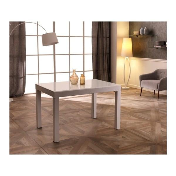 Bílý rozkládací jídelní stůl Design Twist Jeddah