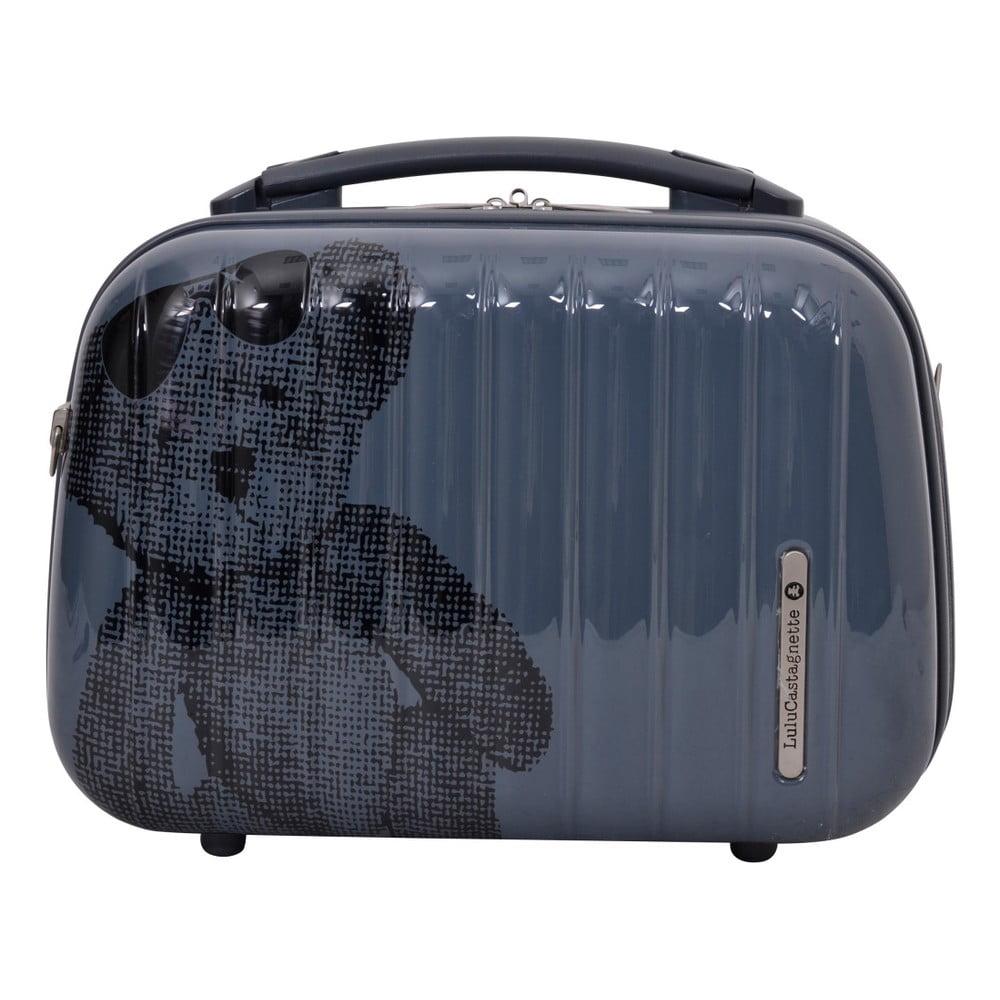 Tmavě šedý příruční kufr LULU CASTAGNETTE Full, 17l