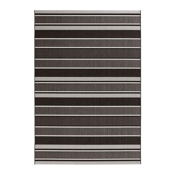 Covor potrivit pentru exterior Bougari Strap, 80 x 150 cm, negru