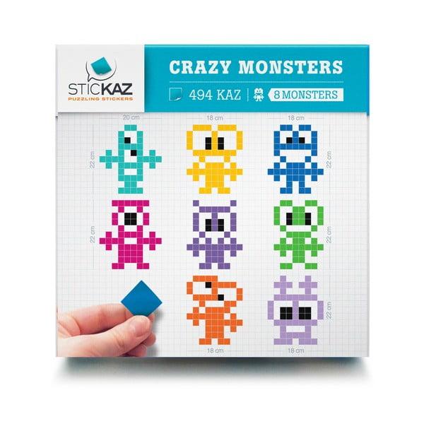 Samolepky Crazy Monster