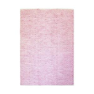 Ručně tkaný růžový koberec Kayoom Coctail Eupen,80x150cm
