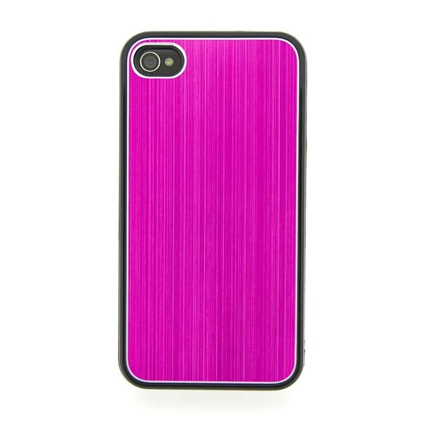 Ochranný obal na iPhone 4/4S, Metal Pink