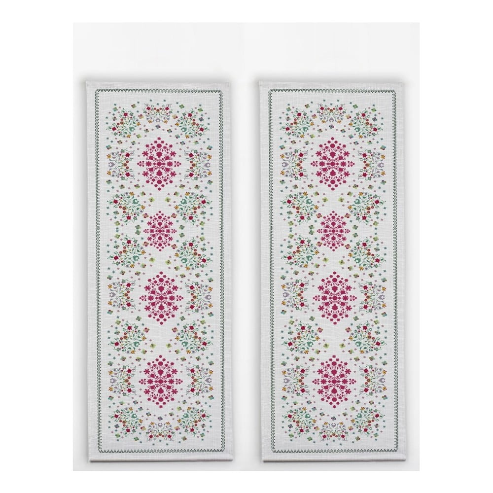 Sada 2 stolních běhounů Madre Selva Flowers Tapestry