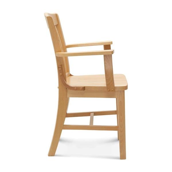 Dřevěná židle s područkami Fameg Hrok