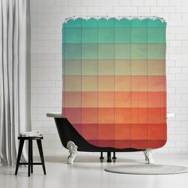 Koupelnový závěs Colourfull, 180x180 cm