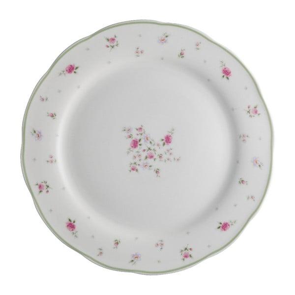 18dílná sada talířů z porcelánu Brandani Nonna Rosa
